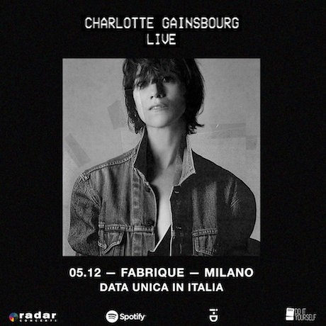 Charlotte Gainsbourg, 5/12 @fabrique Milano
