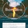 BONOBO_Due nuove date estive 8/7 Roma e 9/7 Locorotondo (BA)