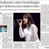 Charlotte Gainsbourg nell'intervista del Corriere della Sera nazionale