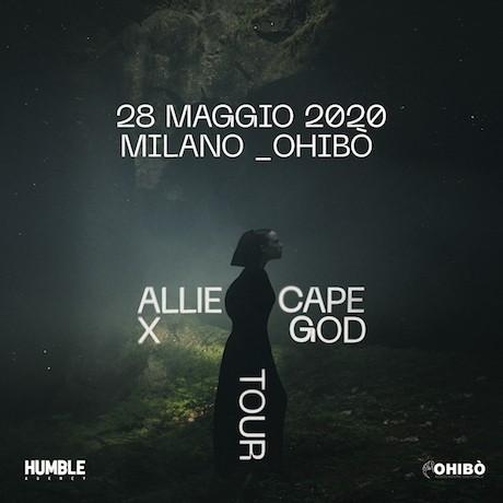ALLIE X – 28 maggio Milano