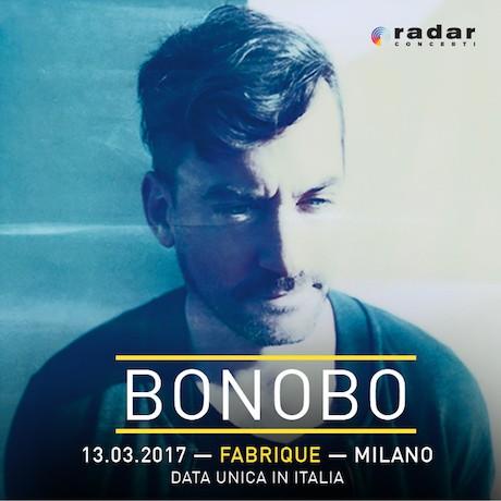 Bonobo_ 13 marzo al Fabrique di Milano