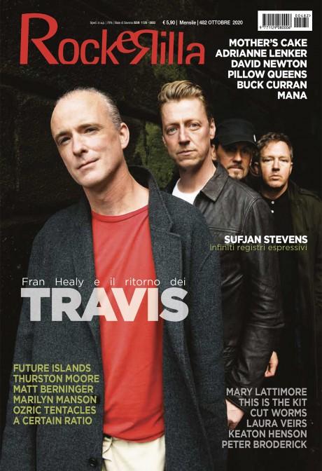I TRAVIS conquistano la copertina di Rockerilla di Ottobre!