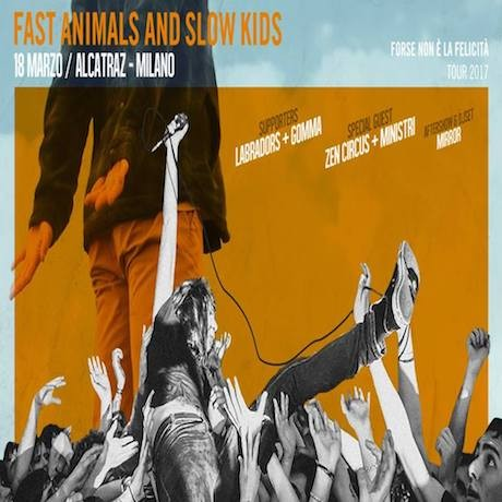 FAST ANIMALS and SLOW KIDS_18 Marzo all'Alcatraz
