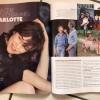 ELLE_ una lunga intervista a Charlotte Gainsbourg, il 5/12 al Fabrique di Milano