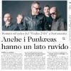 PUNKREAS intervistati da L'Unione Sarda per il concerto del 26 agosto al Frades.