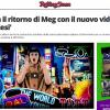 MEG è tornata. La trovate su Rolling Stone Italia con tanti annunci!
