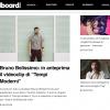 Bruno Belissimo presenta il video di Tempi Moderni su Billboard Italia