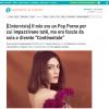 Alessandra Contini intervistata da Tiscali per il suo esordio solista