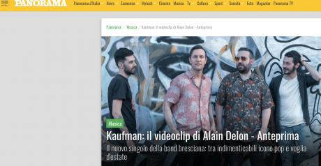 Kaufman: il nuovo video in anteprima su Panorama