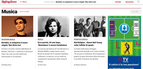 In anteprima su Rolling Stone Italia c'è BARTOLINI