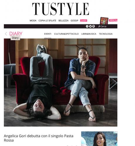 TuStyle intervista Angelica Gori per chiamamifaro, il singolo di debutto