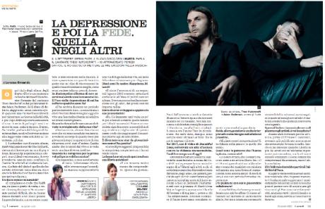 HURTS – Due pagine di intervista su Il Venerdì di Repubblica