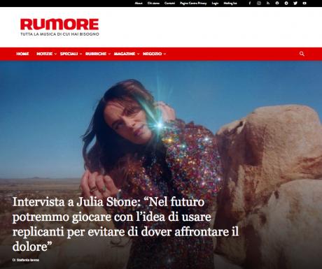 Julia Stone intervistata da RUMORE