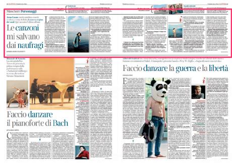 ANNA LEONE intervistata da La Lettura, Corriere della Sera