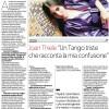 Joan Thiele intervistata da La Repubblica (MI)