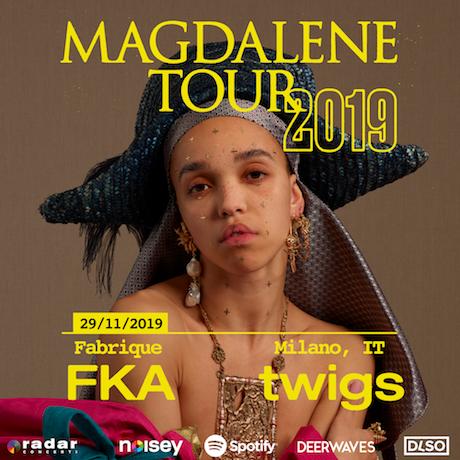 FKA twigs MAGDALENE TOUR 2019