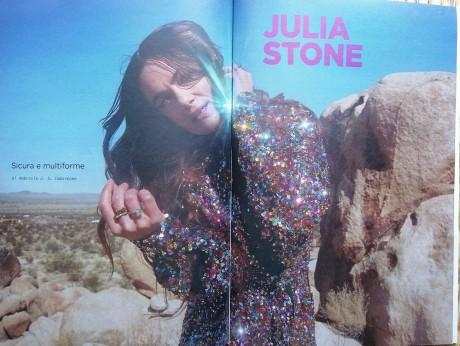 Julia Stone sul numero di aprile di Rockerilla