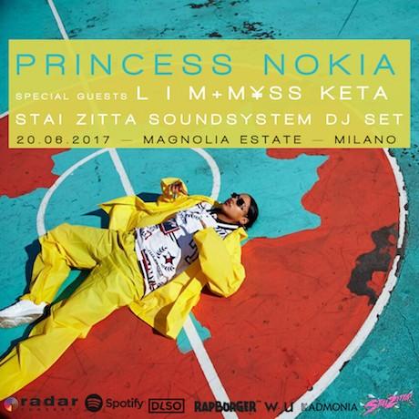 PRINCESS NOKIA, M¥SS KETA, L I M_20 giugno a Magnolia Estate