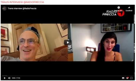 Fran Healy dei TRAVIS intervistato da RADIO FRECCIA