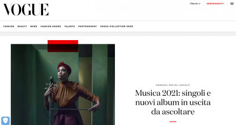 IMANY intervistata da Vogue Italia