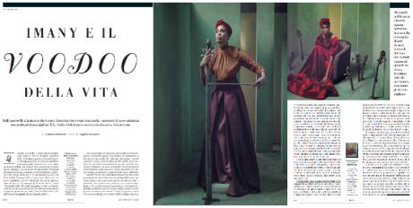 3 pagine dedicate a IMANY su D La Repubblica