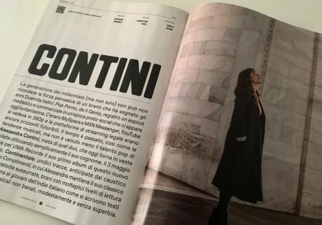 Servizio fotografico per Alessandra Contini in occasione dell'uscita del suo progetto solista CONTINI